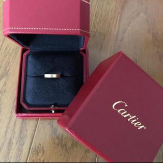 カルティエ(Cartier)の正規品 カルティエ ミニラブリング イエローゴールド(リング(指輪))