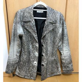 マルタンマルジェラ(Maison Martin Margiela)のPython jacket 売り切り!値下げ可!!(テーラードジャケット)