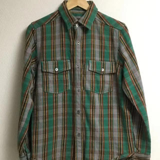 エンジニアードガーメンツ(Engineered Garments)のナイジェルケーボン ヘビーフランネルシャツ リバーシブル 46(シャツ)