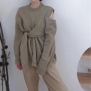 スタイルナンダ(STYLENANDA)の☆新春セール☆新品未使用☆韓国ファッション☆セーター☆ニット☆オフショル☆(ニット/セーター)