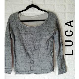 ルカ(LUCA)の(M61)LUCA  レディーストップス(トレーナー/スウェット)