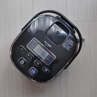 シャープ(SHARP)のシャープ 電子ジャー炊飯器 0.54L(炊飯器)