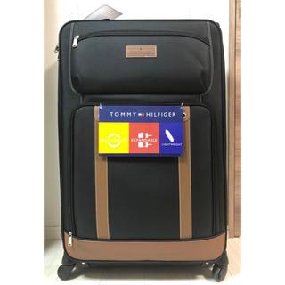 トミーヒルフィガー(TOMMY HILFIGER)の【美品】トミー TOMMY スーツケース キャリー  最大サイズ ソフトタイプ(スーツケース/キャリーバッグ)