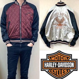 ハーレーダビッドソン(Harley Davidson)のHARLEY DAVIDSON ハーレー ダビットソン スカジャン(スカジャン)