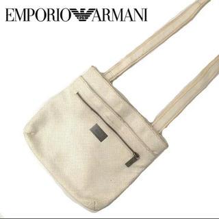 Emporio Armani - EMPORIO ARMANI エンポリオアルマーニ ショルダーバッグ ホワイト