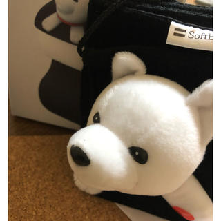 ソフトバンク(Softbank)の【新品未使用】SoftBankお父さんトイレロールカバー(ノベルティグッズ)