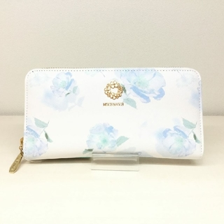 ミッシュマッシュ(MISCH MASCH)の新品 ミッシュマッシュ クローエシリーズ 水彩 花柄 長財布(財布)