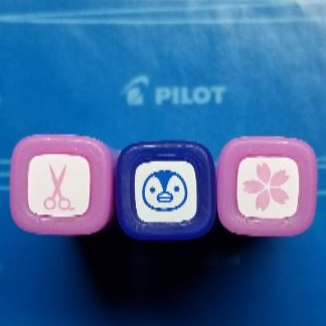 PILOT(パイロット)の選んで3個フリクションスタンブ インテリア/住まい/日用品の文房具(印鑑/スタンプ/朱肉)の商品写真