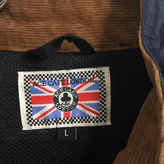 Lewis Leathers(ルイスレザー)のACE CAFE LONDON エースカフェ ロンドンナイロン ライダース メンズのジャケット/アウター(ナイロンジャケット)の商品写真