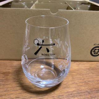 サントリー(サントリー)の新品 非売品 グラス タンブラー 六 ROKU ウイスキー(アルコールグッズ)
