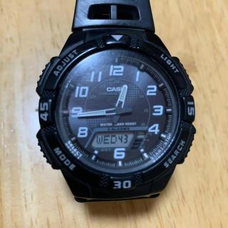 カシオ(CASIO)の値下げ!CASIO AQ-S800W 中古(腕時計(デジタル))