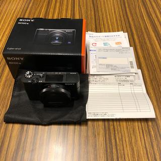 ソニー(SONY)のRX100M7 開封済み美品、ほぼ未使用、屋外持ち出し無し(コンパクトデジタルカメラ)
