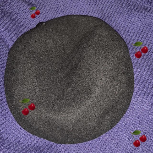 WEGO(ウィゴー)のマチアリベレー帽 レディースの帽子(ハンチング/ベレー帽)の商品写真
