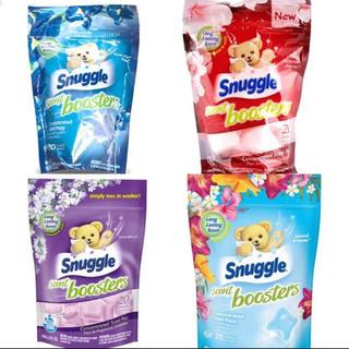 スナッグル(Snuggle)のスナッグル  セントブースター 各5個 お試し用(洗剤/柔軟剤)