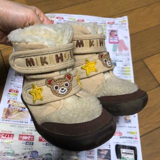 ミキハウス(mikihouse)のプッチーくん ブーツ ミキハウス 14.0(ブーツ)
