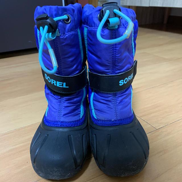 SOREL(ソレル)のSORELのブーツ17センチ キッズ/ベビー/マタニティのキッズ靴/シューズ(15cm~)(ブーツ)の商品写真