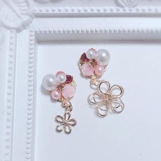 プリンセス♡ラプンツェルイメージビジュー★ピアス/イヤリング(イヤリング)