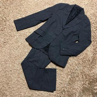 セオリー(theory)の値下げ交渉OK セオリー シングル パンツスーツ Mサイズ ダークグレー(スーツ)