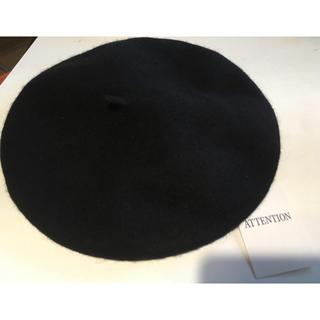 WEGO - WEGO ベレー帽 ブラック タグ付き未使用