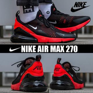 ナイキ(NIKE)のNIKE AIR MAX 270 BLACK / RED 27.5cm(スニーカー)