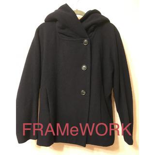 フレームワーク(FRAMeWORK)のフレームワーク ショートコート ネイビー(ピーコート)