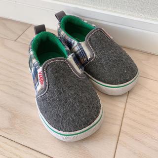 ヴァンズ(VANS)の【13cm】 バンズ チェック スリッポン 靴(スリッポン)