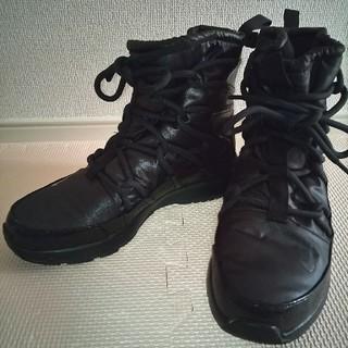 ナイキ(NIKE)のNIKE TANJUN HIGH RISE 定価9350円 黒 24.5cm(ブーツ)