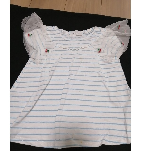 WILL MERY(ウィルメリー)のWILL MERY 半袖 キッズ/ベビー/マタニティのキッズ服女の子用(90cm~)(Tシャツ/カットソー)の商品写真