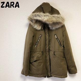 ザラ(ZARA)の【人気】ZARA/ザラ フードファージップアップコート サイズXS レディース(モッズコート)