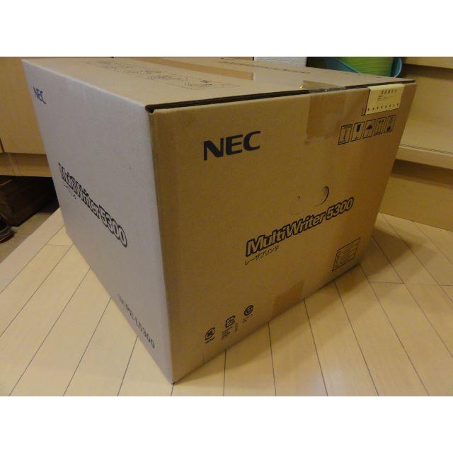 NEC(エヌイーシー)の【新品】NEC MultiWriter 5300「PR-L5300」本体一式 インテリア/住まい/日用品のオフィス用品(OA機器)の商品写真