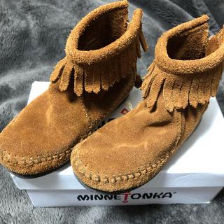 ミネトンカ(Minnetonka)のミネトンカ 14センチ(ブーツ)