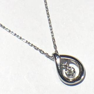 カナルヨンドシー(canal4℃)のcanal4°C ネックレス ダイヤモンド k10wg ペンダント ヨンドシー(ネックレス)
