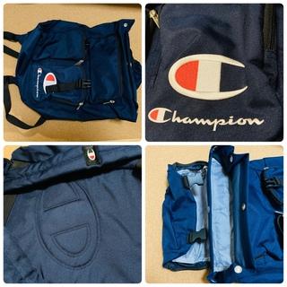 チャンピオン(Champion)のChampion リュック 濃紺  超美品(バッグパック/リュック)