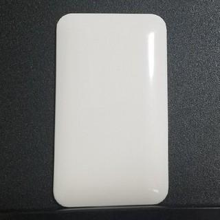 パナソニック(Panasonic)のWTC7091Wカバープレー1連 取付枠付(ホワイト)コスモシリーズワイド21 (その他)