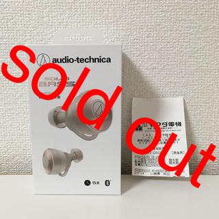 オーディオテクニカ(audio-technica)のオーディオテクニカ  ATH-CKS5TW KH ワイヤレスイヤホン 保証 新品(ヘッドフォン/イヤフォン)