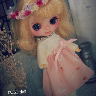 ❁.。.:*YUKI*doll ❁.。.:*カスタムプチブライス ブライス (ぬいぐるみ/人形)