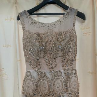 AIMER - ホワイト ゴースド ドレス