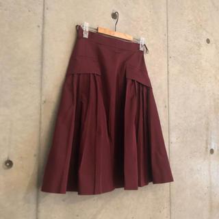 プラダ(PRADA)のPRADA デザインスカート(ロングスカート)