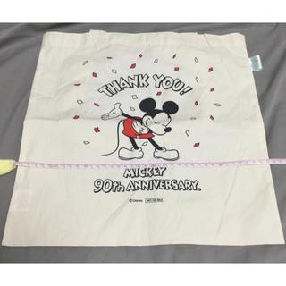 ミッキーマウス(ミッキーマウス)のミッキー マウス 90周年ショップ 限定ノベルティ トートバッグ エコバッグ(トートバッグ)