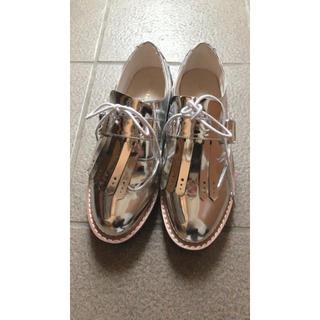 エスペランサ(ESPERANZA)のシルバー ローファー(ローファー/革靴)
