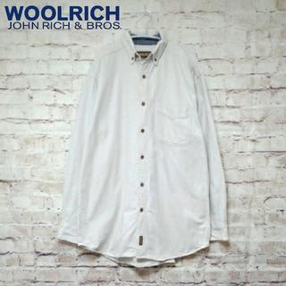 ウールリッチ(WOOLRICH)の90S 古着 ウールリッチ 長袖シャツ メンズ  M  ZH00133(シャツ)