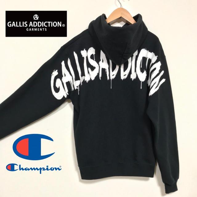 JACKROSE(ジャックローズ)のGALLIS ADDICTION x Champion ショルダーPTスウェット メンズのトップス(パーカー)の商品写真