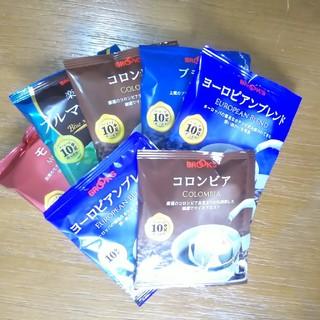 ブルックス(Brooks)のBROOKS ドリップコーヒー5種&おまけ2種類(コーヒー)
