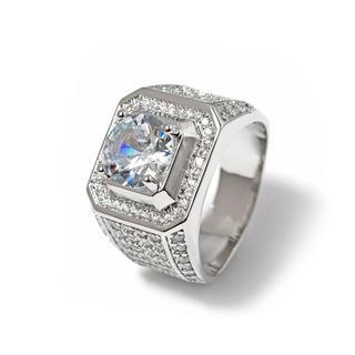 415★値下げ!きらきらオールストーン付き指輪リング☺︎*(リング(指輪))