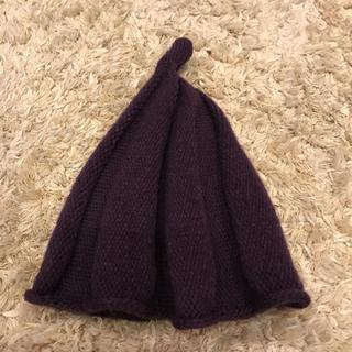 ミナペルホネン(mina perhonen)のニット帽  キッズ  (帽子)
