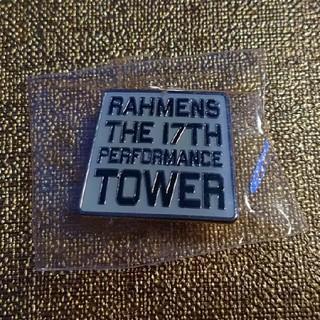 ピンバッジ 白 RAHMENS ラーメンズ 第17回公演 TOWER(お笑い芸人)