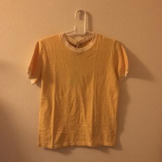 マーロ(malo)のレモンイエロー🍋サマーニット☀️(Tシャツ(半袖/袖なし))