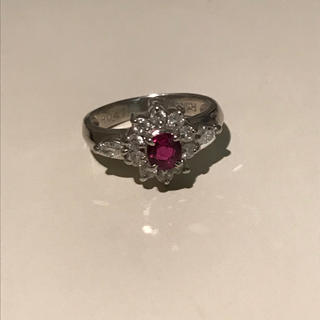 本物ルビーとダイヤのリング(リング(指輪))