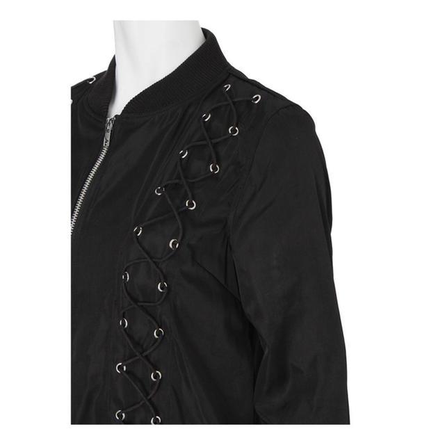 EATME(イートミー)のEATME スピンドルブルゾン MA1 レディースのジャケット/アウター(ブルゾン)の商品写真