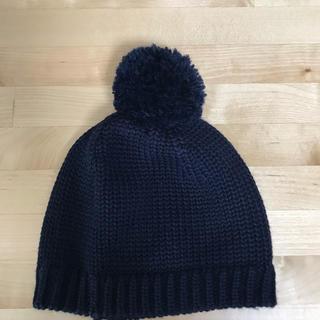 プチバトー(PETIT BATEAU)のプチバトー ニット帽 53㎝(帽子)
